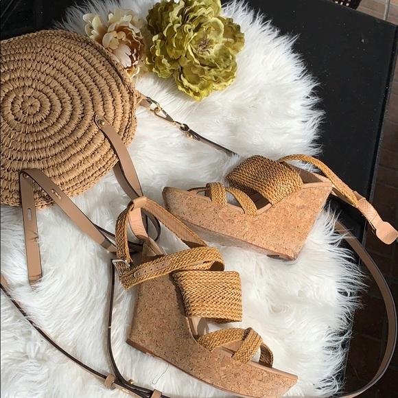 Loeffler Randall Shoes - Loeffler Randall basket weave platforms GUC